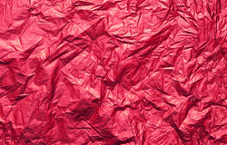 Red foil texture Royalty Free Stock Images