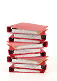 Red folder Stock Photography