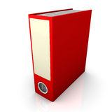 Red Folder Stock Images