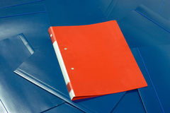 Red folder Royalty Free Stock Images
