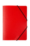 Red folder isolated. On white background. With clipping path included Royalty Free Stock Image