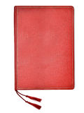 Red folder for papers. Folder for papers isolated on white background Royalty Free Stock Photos