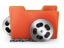 Red folder Stock Image
