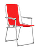Red folding chair Stock Image