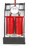 Red Foot Pressure Pump Royalty Free Stock Image