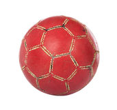 Red footbal with clipping path Stock Image