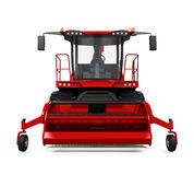 Red Forage Harvester Royalty Free Stock Image