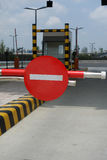 Red forbidden traffic sign Stock Photo
