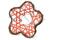 Red formada flor del decorador del ramo foto de archivo libre de regalías