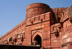 Red Fort. Entry to the Red Fort in Agra India Royalty Free Stock Images