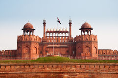 The Red Fort. In Old Delhi, India Stock Images