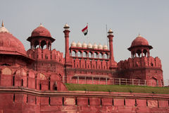 Red fort. Front view,  Delhi, India Royalty Free Stock Photos