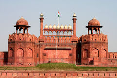 Red Fort. The Red Fort in New Delhi Royalty Free Stock Images