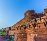 Red Fort in Agra, Amar Singh Gate, India, Uttar Pradesh Stock Images