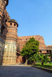 Red Fort in Agra, Amar Singh Gate, India, Uttar Pradesh Royalty Free Stock Images