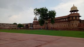 Red fort agra royalty free stock photo