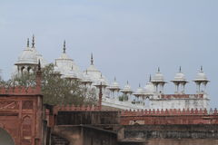 The Red Fort of Agra India Royalty Free Stock Photography