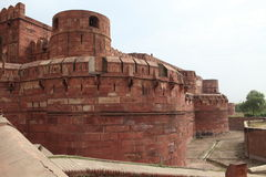 The Red Fort of Agra India Stock Images