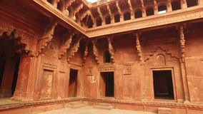 Red Fort of Agra – India stock video footage
