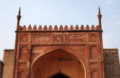 Red Fort, Agra. Unique architectural details of Red Fort, Agra, UNESCO World heritage site, India Royalty Free Stock Images