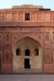 Red Fort, Agra. Unique architectural details of Red Fort, Agra, UNESCO World heritage site, India Royalty Free Stock Photos