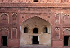 Red Fort, Agra. Unique architectural details of Red Fort, Agra, UNESCO World heritage site, India Royalty Free Stock Photography