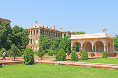 Red fort complex delhi india Royalty Free Stock Photo