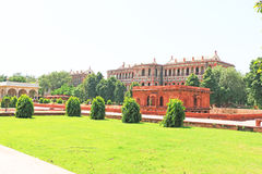 Red fort complex delhi india Royalty Free Stock Photos