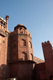 Red Fort Of Delhi. One of the towers in the entrance of Delhis Red Fort Royalty Free Stock Images