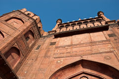 Red Fort Of Delhi. Different view of the entrance of Delhis Red Fort royalty free stock photography