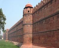 Red Fort in Delhi Stock Image