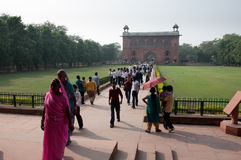 Red Fort, Delhi, India. Stock Photos
