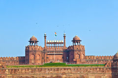 Red Fort in Delhi Stock Photo