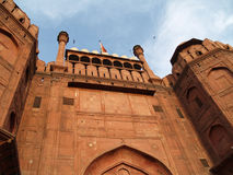 Red Fort in Delhi in India Royalty Free Stock Photo