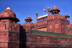 Red fort,delhi,india Royalty Free Stock Photo
