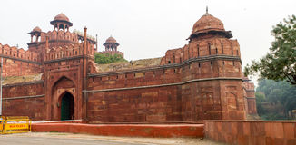 The Red Fort in Delhi India Royalty Free Stock Images