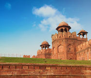 Red Fort in Delhi, India Royalty Free Stock Photo