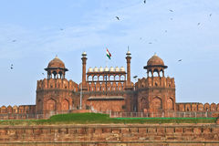 Red Fort in Delhi Stock Photos