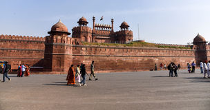 Red Fort in Delhi Stock Images