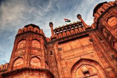Red Fort Delhi. Taken in 2015 Stock Photo