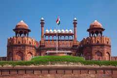 Red Fort in Delhi. UNESCO world Heritage Site, the Red Fort is an iconic symbol of India. Delhi, India royalty free stock photos