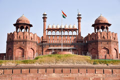Red Fort in Delhi Royalty Free Stock Image