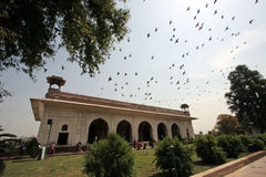 Red Fort, Diwan-i-khas, Delhi Stock Image