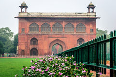 Red Fort entrance gate in New Delhi Stock Photo