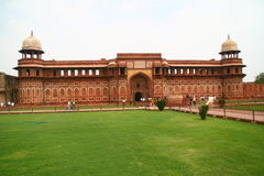 Red Fort in India. Building at the Red Fort in Delhi, India Stock Image