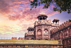 Red fort in India Royalty Free Stock Images