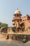 The Red Fort, India. One of the side buildings at the Red Fort in India Royalty Free Stock Images