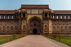 The Red Fort, India. A side entrance to the Red Fort in India Stock Image