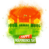 Red Fort for Indian Independence Day. Royalty Free Stock Photos