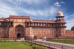 Red fort inside. Agra. India Stock Photo